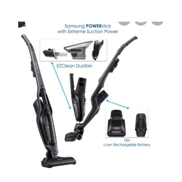 SAMSUNG VS60M6015KG SILVER stick vacuum cleaner
